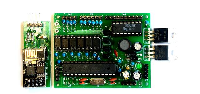 Arduino digit nixie clock