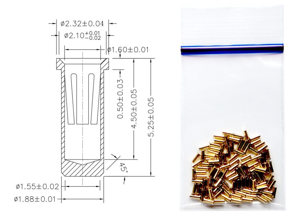 DA-2000 Receptacle pins